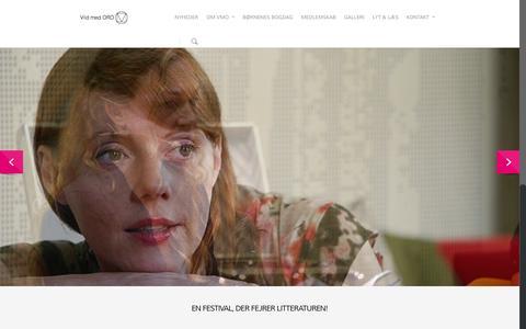 Screenshot of Home Page vildmedord.dk - vildmedord.dk - captured Feb. 14, 2016
