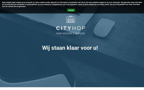Screenshot of Contact Page cityhop.nl - Contact – Cityhop - captured Nov. 10, 2018