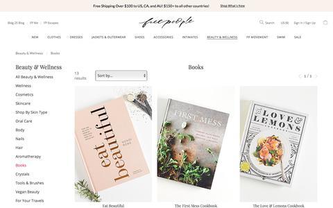 Wellness Books + Healthly Lifestyle Books | Free People