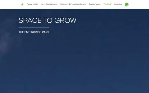 Screenshot of Press Page horizon-scotland.com - The Park - The Enterprise Park, Forres - captured Sept. 30, 2014