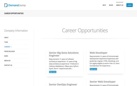 Career Opportunities at DemandJump