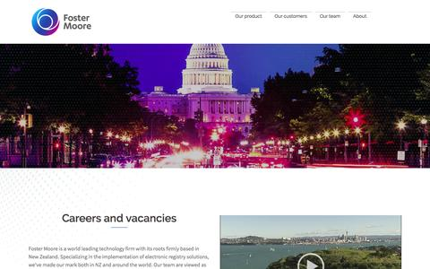 Careers - Foster Moore International Limited