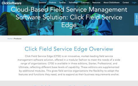 Field Service Management Software | ClickSoftware
