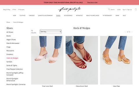 Heels & Wedges | Free People