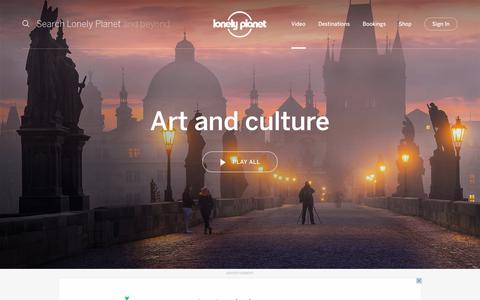 Art and culture channel - Lonely Planet video
