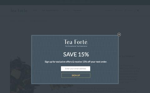 Explore Tea Types with Tea Forté