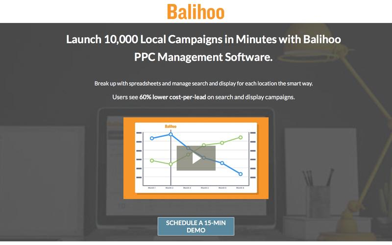 PPC Management Software that's Decisively Local.
