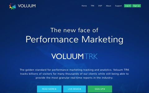 Voluum - The new face of Performance Marketing