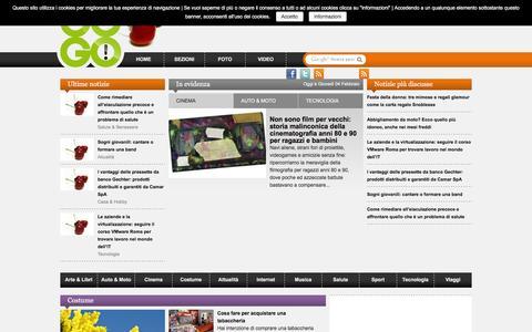 Screenshot of Home Page jugo.it - JUGO - Original passion juice - captured Feb. 4, 2016