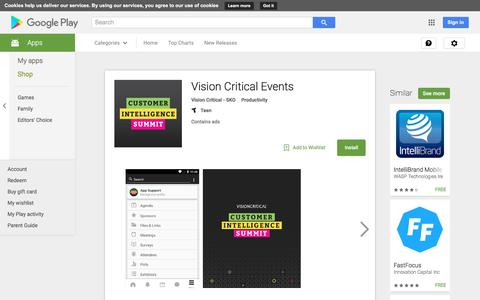 Vision Critical Events - Android Apps on Google Play