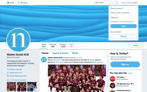 Nielsen Social AUS (@NielsenSocialAU) | Twitter