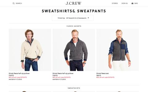 Men's Hoodies : Men's Sweatshirts & Sweatpants | J.Crew