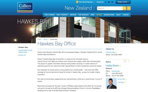 Hawkes Bay Office | New Zealand | Colliers International