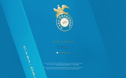 Screenshot of Press Page casadragones.com - Press - Tequila Casa Dragones - captured Dec. 7, 2015