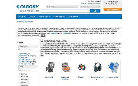 Bij Fabory bestelt u Veiligheidsproducten van hoge kwaliteit | Fabory, Nederland