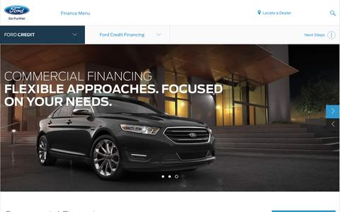Ford Credit Commercial Vehicle Financing | Financing Options | Official Site of Ford Credit