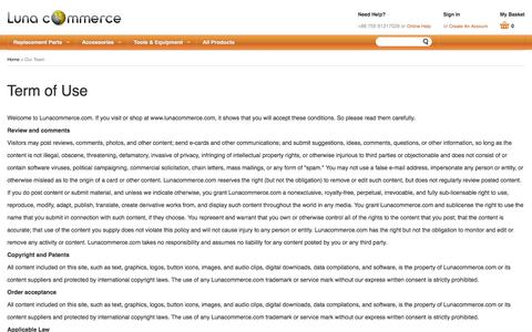 Screenshot of Team Page lunacommerce.com - Team - Luna Commerce - captured July 19, 2016
