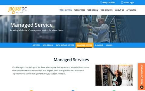 Screenshot of Team Page jaguarpc.com - Managed Service Providers | Managed IT Solutions | Business/Enterprise IT Support Services | JaguarPC - captured May 10, 2019
