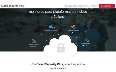 Cloud Security Plus - ManageEngine