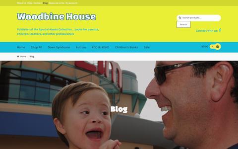 Screenshot of Blog woodbinehouse.com - Blog - Woodbine House - captured June 30, 2018