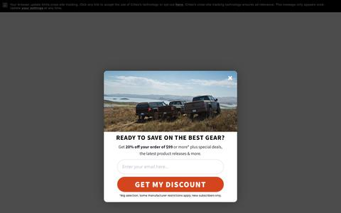 Screenshot of Home Page autoanything.com - AutoAnything™ - America's Auto and Truck Accessories SuperStore - captured Jan. 20, 2019