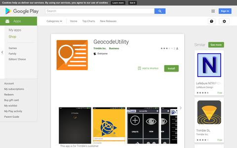 GeocodeUtility - Apps on Google Play
