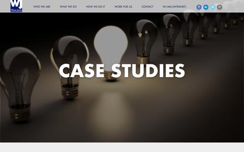 Screenshot of Case Studies Page wilsonjames.co.uk - Case Studies – Wilson James - captured Sept. 20, 2018