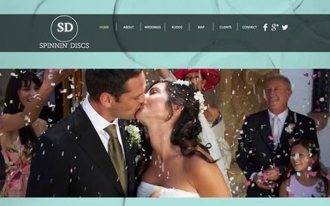 Screenshot of Terms Page spinnindiscs.com - Spinnin Discs | Wedding DJs | Schaumburg, Illinois - captured Oct. 9, 2014