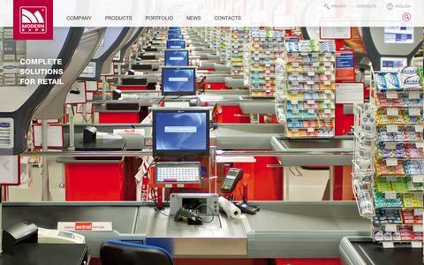 Screenshot of Home Page expogulf.com - Modern Expo - captured Oct. 3, 2014