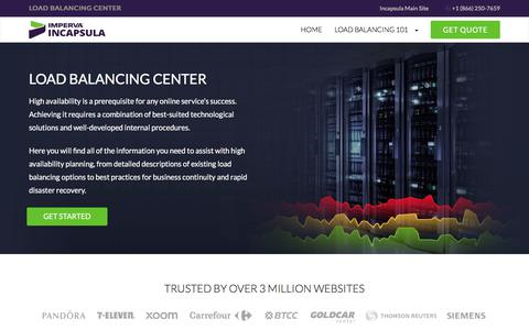 Load Balancing - Knowledge Center | Incapsula