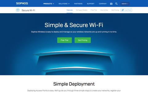 Wireless Access Points for Secure Wi-Fi Environments   Sophos Wireless Security Made Simple