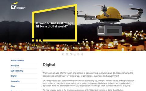 EY Advisory Services - Digital - EY - United States