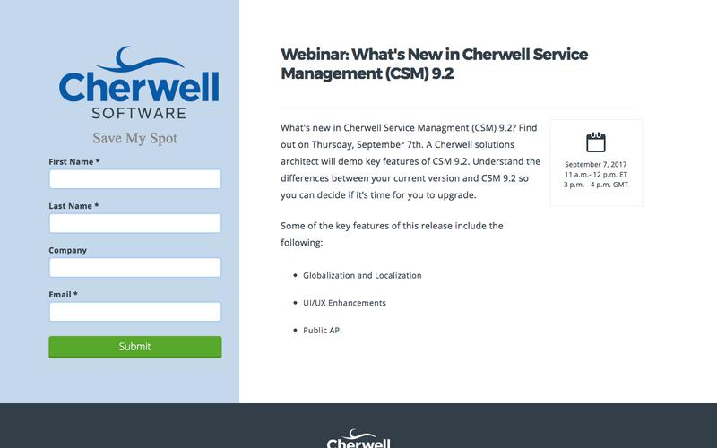 W - What's New in CSM 9.2  9-07-17