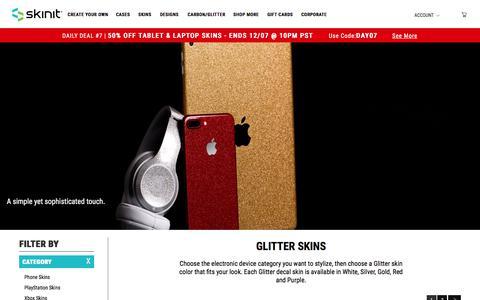 Glitter Skins | Premium Textured Device Skins - Skinit®