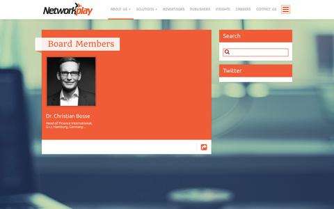 Screenshot of Team Page networkplay.in - Board Members | Networkplay Media– Official Website - captured Sept. 18, 2014