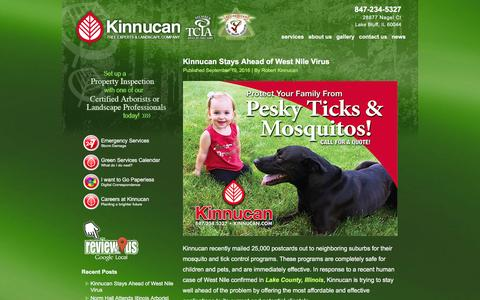 Screenshot of Press Page kinnucan.com - News | 847-234-5327 | Kinnucan | Lake Bluff, IL - captured Nov. 27, 2016
