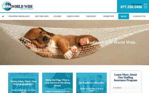 Screenshot of Blog wwspi.com - Blog - captured Dec. 18, 2016