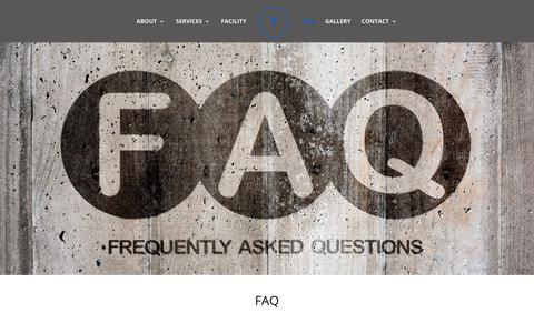 Screenshot of FAQ Page telesiscollision.com - FAQs - Auto Body Repair Palmdale, Lancaster & Acton - Telesis Collision Center - captured Oct. 18, 2018