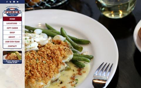 Screenshot of Home Page fordsfishshack.com - Seafood Restaurant in Ashburn & South Riding, VA | Ford's Fish Shack - captured Jan. 8, 2016