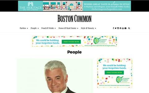 Screenshot of Team Page bostoncommon-magazine.com - Boston's Top Celebrities and Notable People - captured May 9, 2017