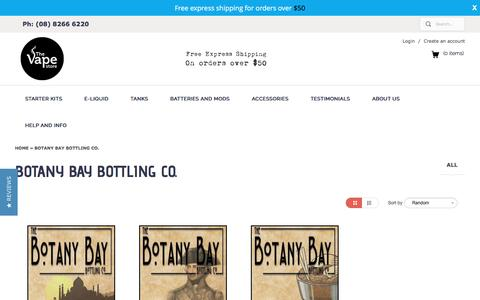 Botany Bay Bottling Co. | The Vape Store