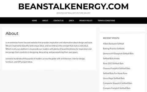 Screenshot of About Page beanstalkenergy.com - About – beanstalkenergy.com - captured Aug. 1, 2018