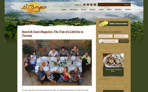 Screenshot of Press Page ilcampoitalia.com - News Archives » Il Campo Italia | Il Campo Italia - captured Oct. 3, 2014