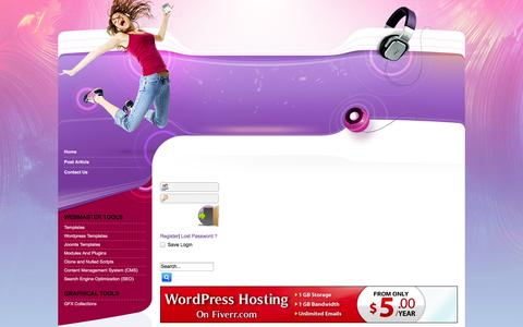 Screenshot of Home Page freefresh.in - Freefresh.in  free download premium templates plugins scripts - captured Sept. 19, 2014