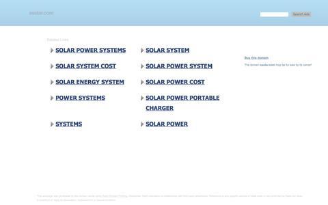 Screenshot of Home Page esolar.com - esolar.com-This website is for sale!-esolar Resources and Information. - captured Sept. 13, 2019