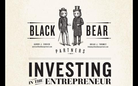 Screenshot of Home Page blackbearpartners.com - Black Bear Partners - captured Sept. 30, 2014
