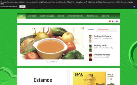 Screenshot of Home Page Privacy Page bajamar-mamia.com - .: Bajamar Mamia :. - captured Oct. 21, 2018