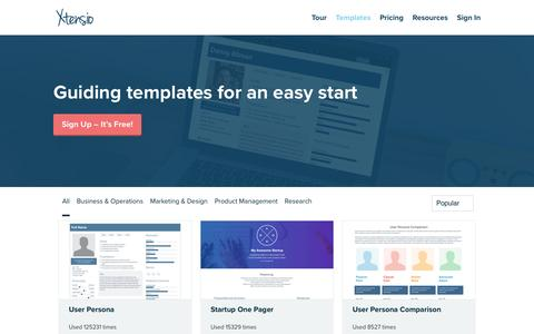 Xtensio | Free Tools and Templates for Your Business
