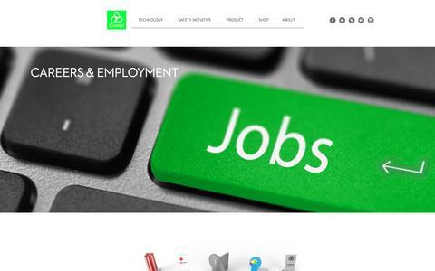 Screenshot of Jobs Page koroyd.com - Jobs - Koroyd - captured Aug. 9, 2016