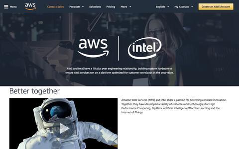 Intel and AWS